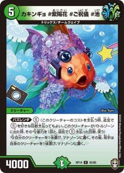 画像1: 【パラレル】カキンギョ #紫陽花 #ご祝儀 #池[DM_RP-14_45U]