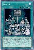 【Normal】禁止令[YGO_SR06-JP029]
